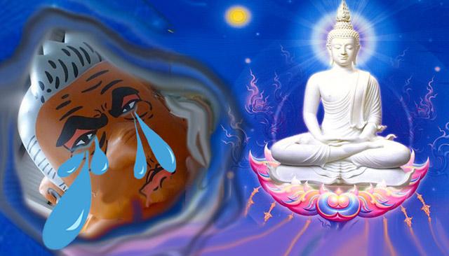 London mayor Crybaby Kant with Buddha, Alternate Universe