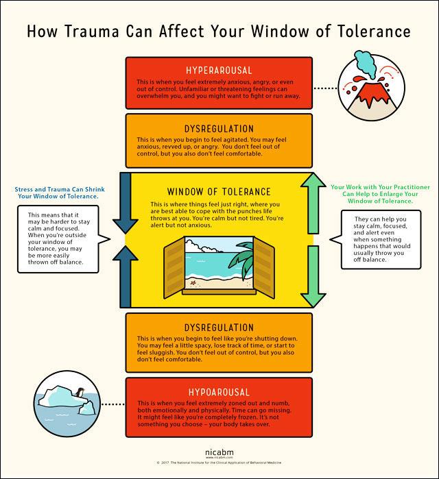 window of tolerance - NICABM