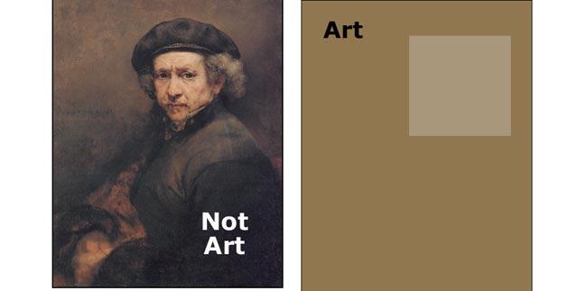 art vs not art