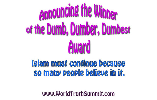 Dumb, Dumber, Dumbest