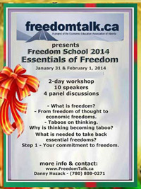 Essentials of Freedom Conference - Edmonton, 2014