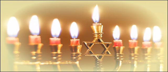 Hanukkah cancles