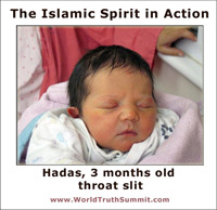 Islamic Beliefs - Hadas, baby girl, throat slit