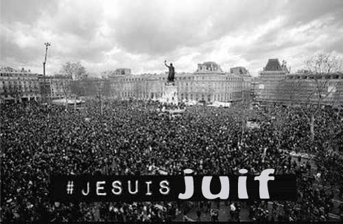 je suis juif - all of Paris